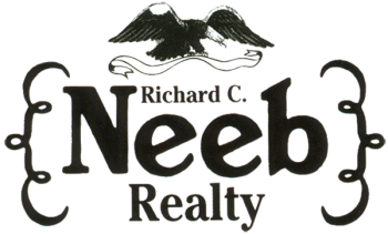 Richard C. Neeb Realty Black and White Logo